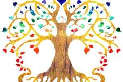 création logo arbre